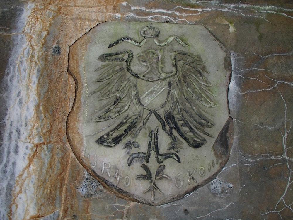 Médaillon de l'aigle impérial Allemand au SP3