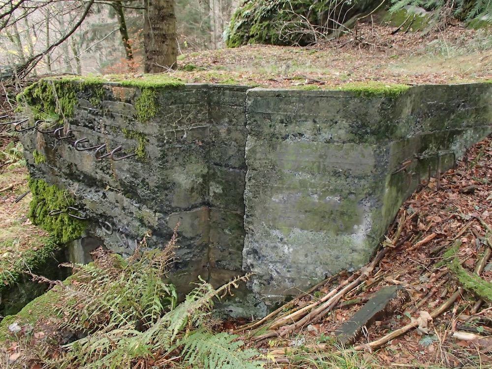 Entrée supérieure du SP3 fortin Allemand du Sudelkopf