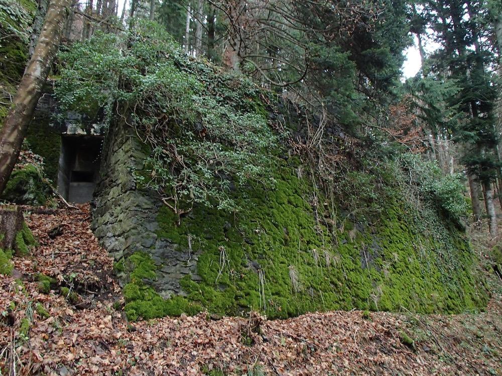 Avant du bunker au SP3