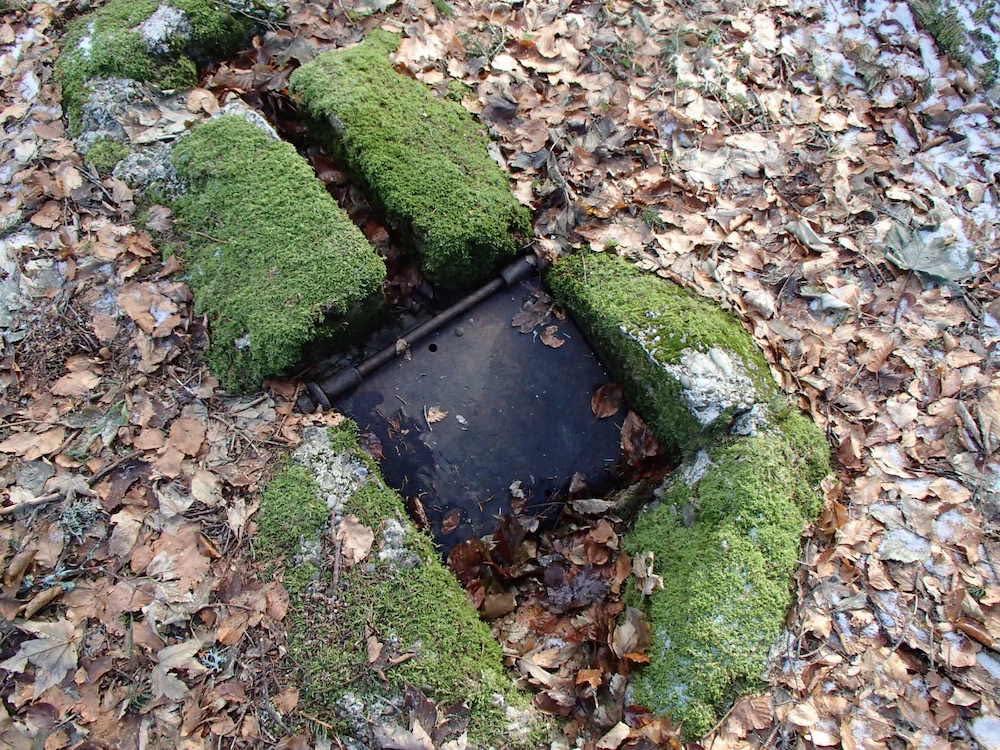 Trappe pour le périscope au bunker du SP1
