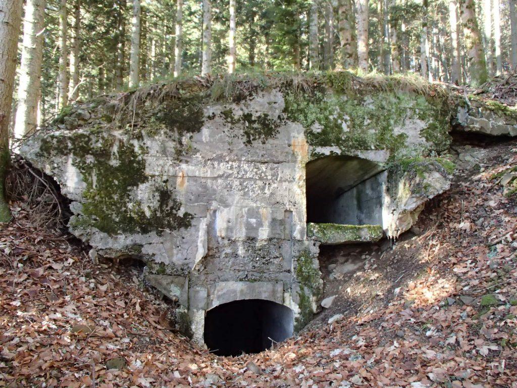 Bunker au SP2 du Sudelkopf