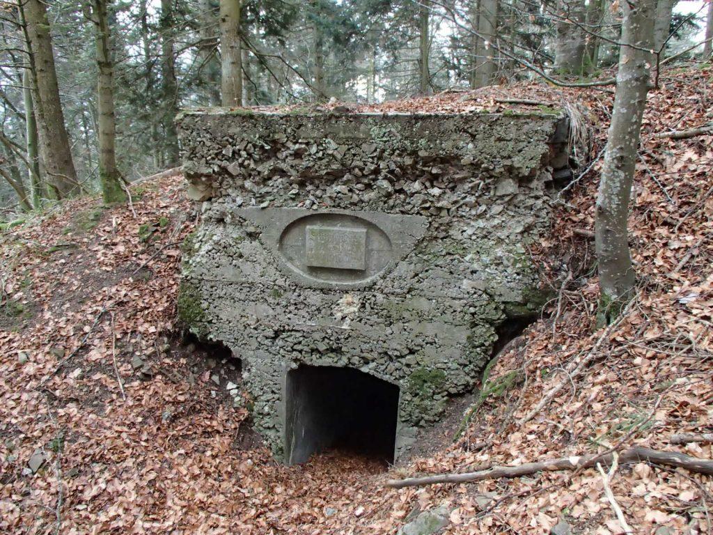 Bunker Allemand du SP4 au Sudelkopf