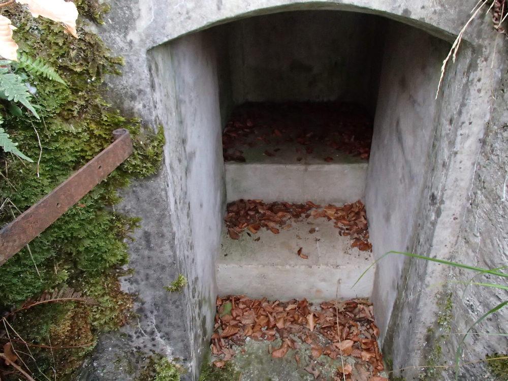 La guérite d'observation du bunker Allemand du SP0