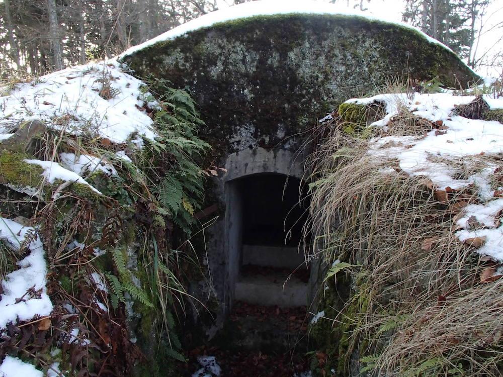 Guérite au bunker du SP0