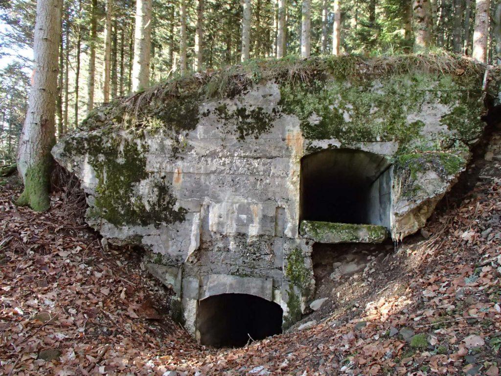 SP2 Bunker Allemand du Sudelkopf.