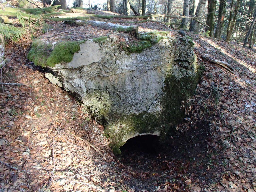 Entrée du bunker SP2