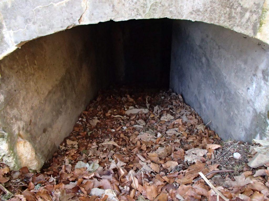 Entrée principale du bunker du SP2