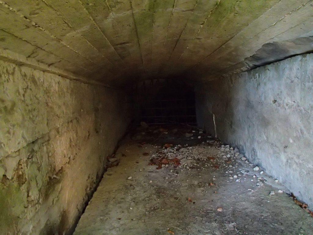 Intérieur du bunker Allemand du SP2