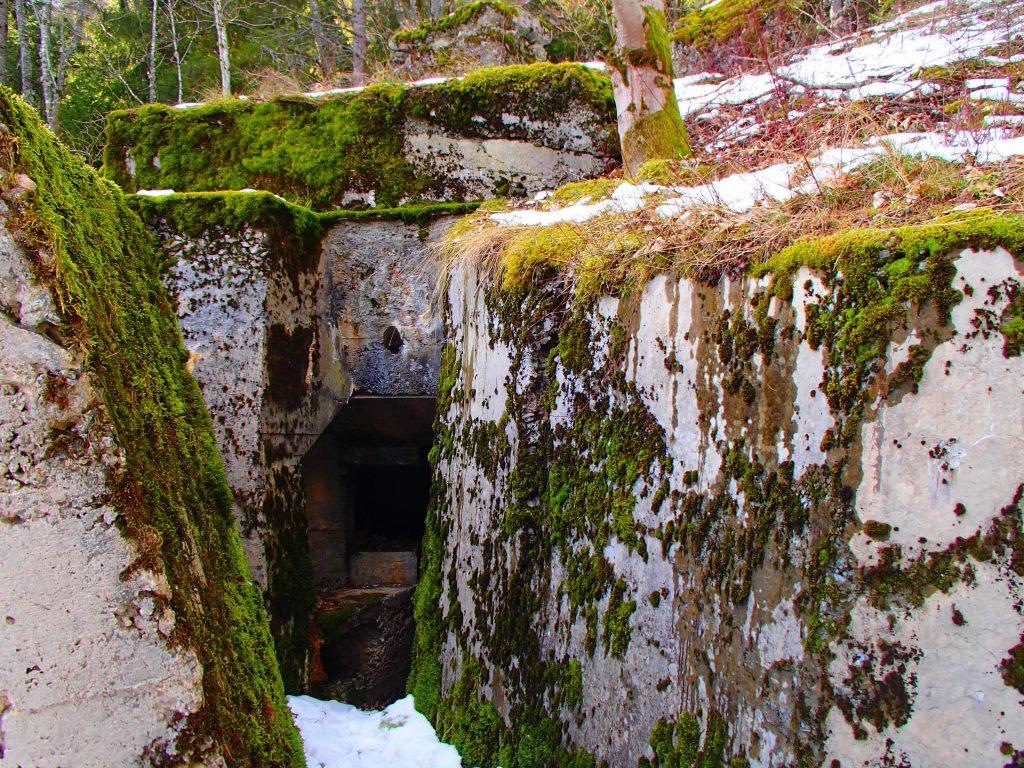 Le grand bunker du SP Rehkopf