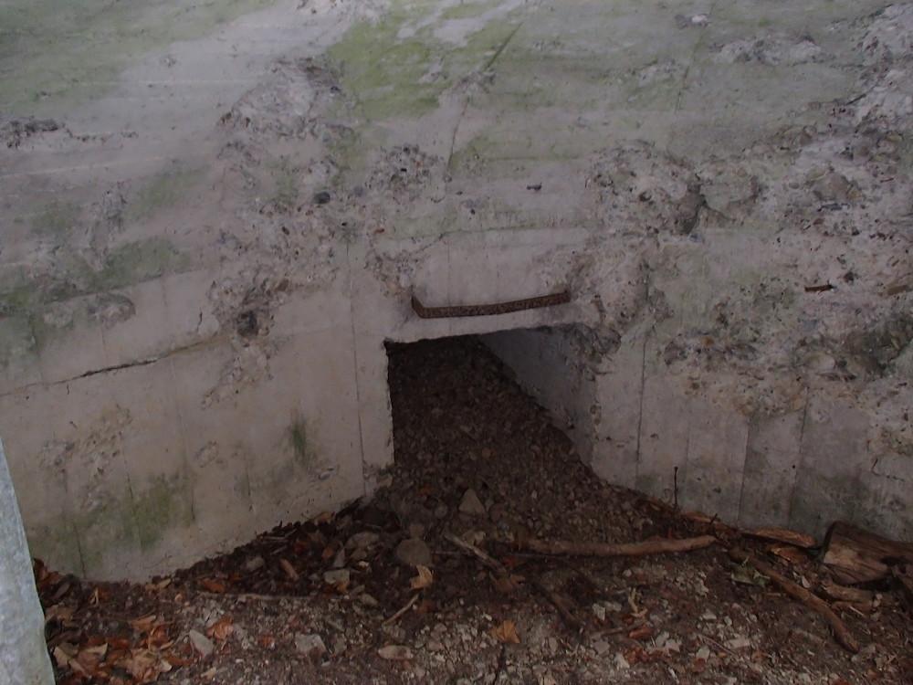 Intérieur Minenwerfer Allemand