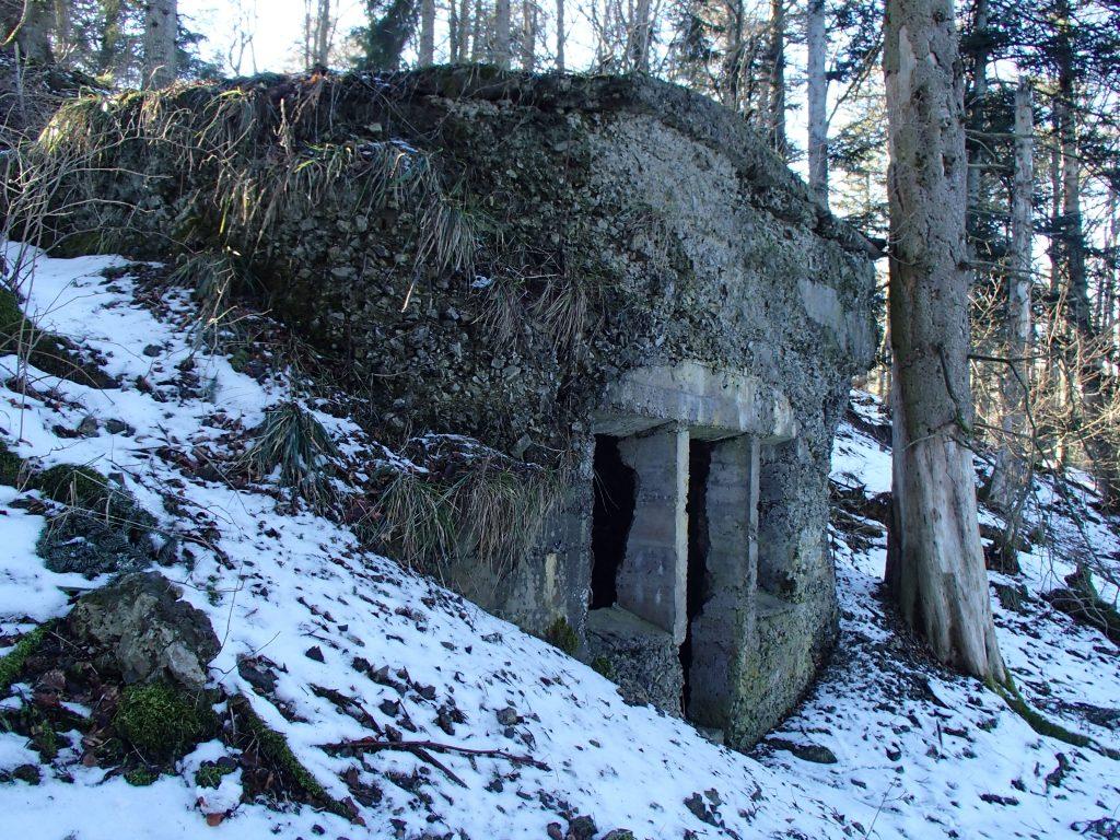 Bunker Allemand au SP00 du Sudelkopf