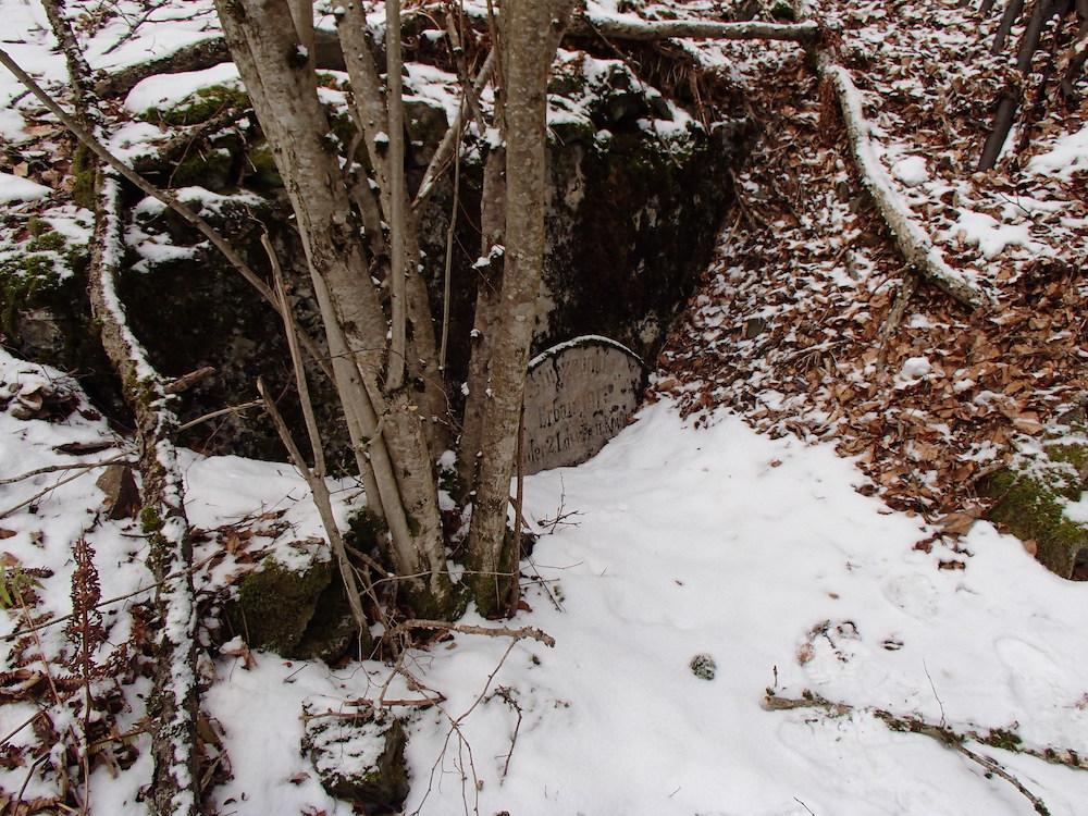 L'entrée du bunker au Stützpunkt 5