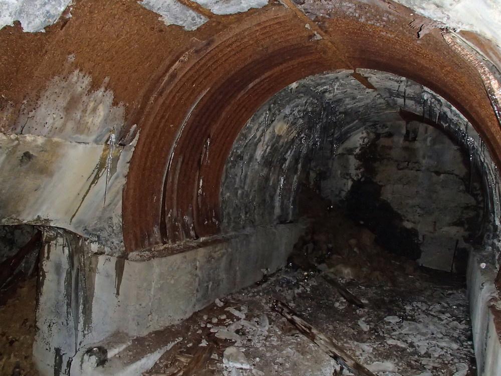 La chambre dans le bunker du Stützpunkt 5
