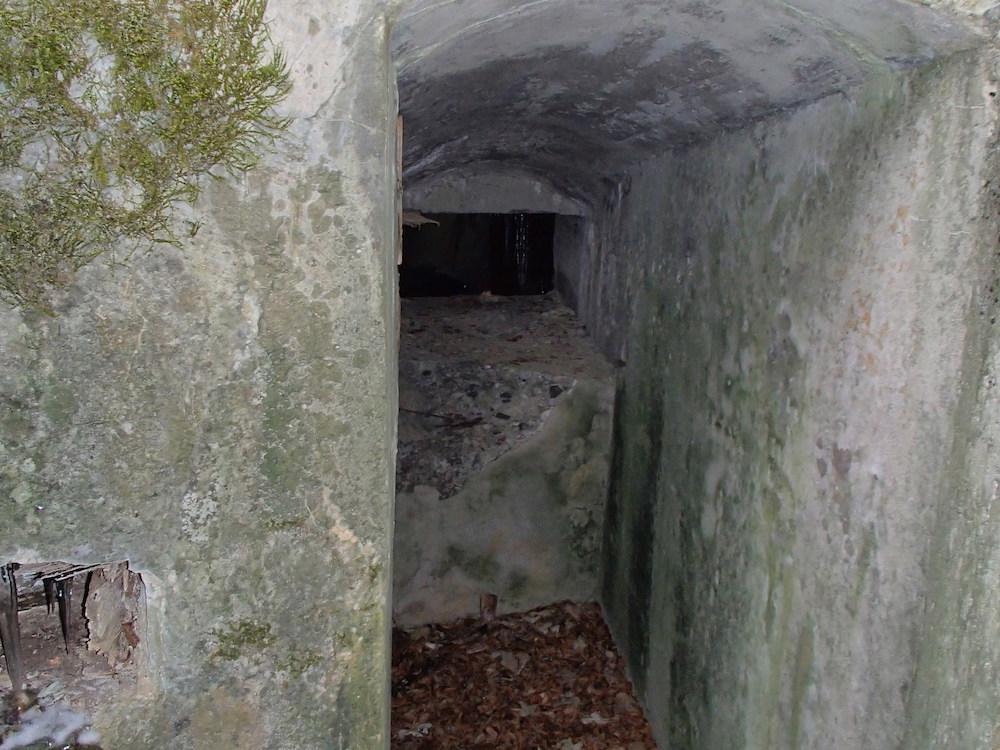 La meurtrière dans le bunker du SP5