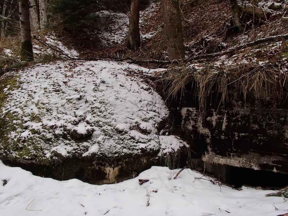 Bunker du mortier allemand au Sudel