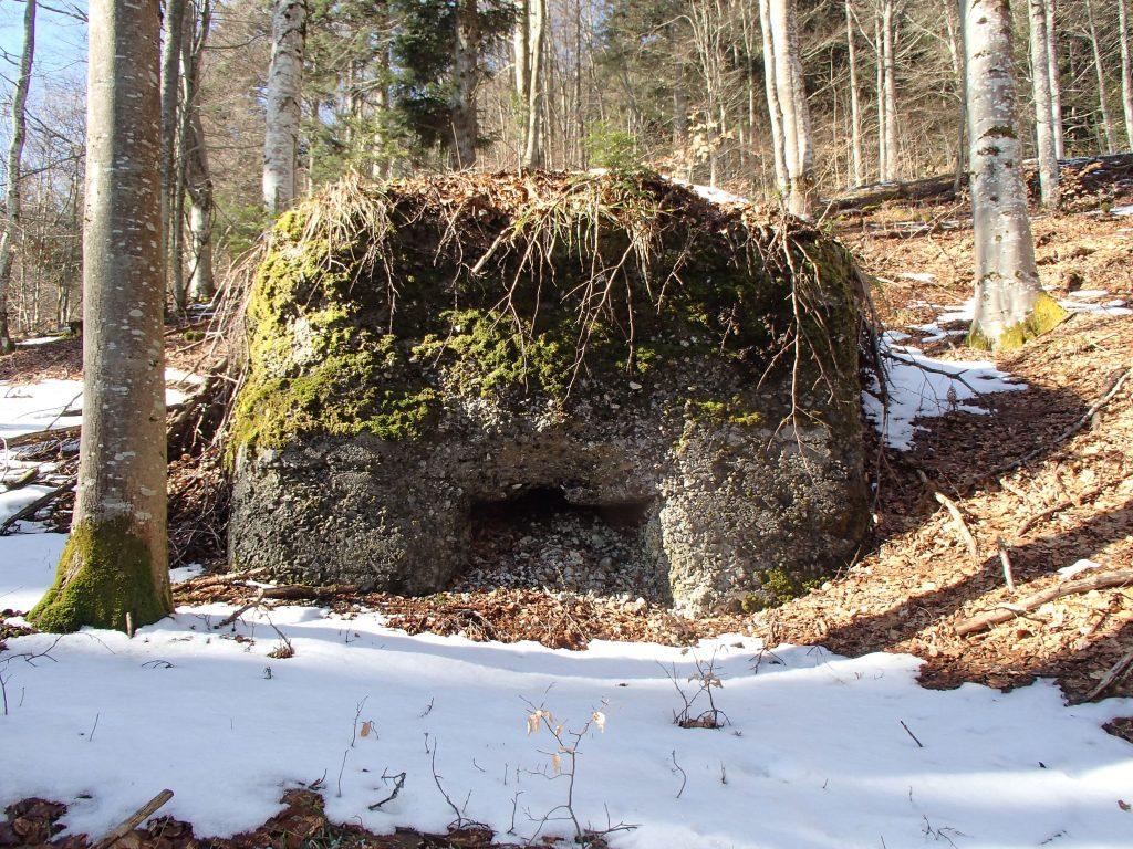 Bunker Allemand autour du Stützpunkt 6.