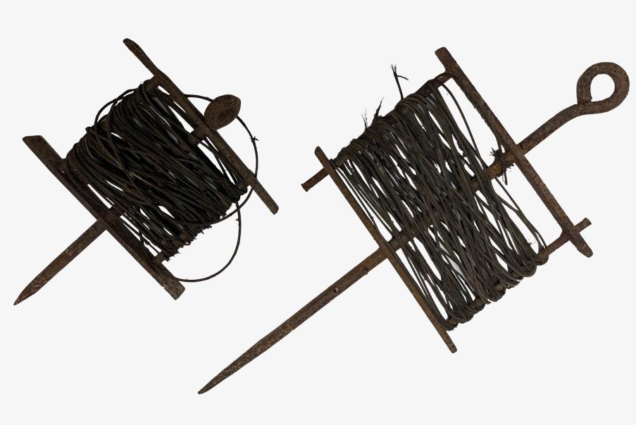 Enrouleur de câbles électriques Allemand 1914-1918