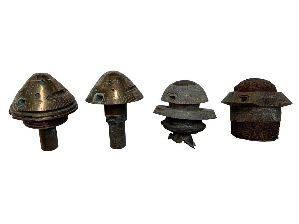 Fusées d'obus Allemandes 1914-1918