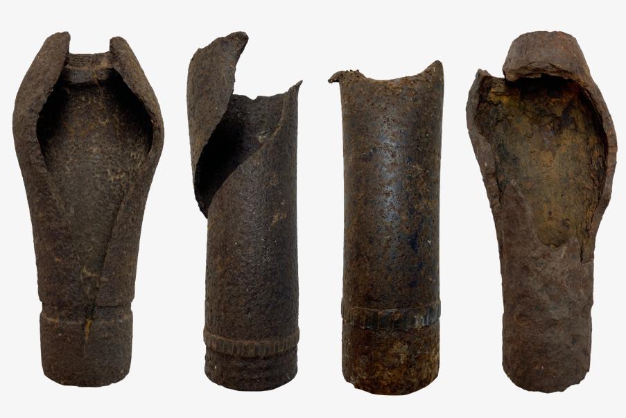 Plusieurs obus de 75 mm défectueux