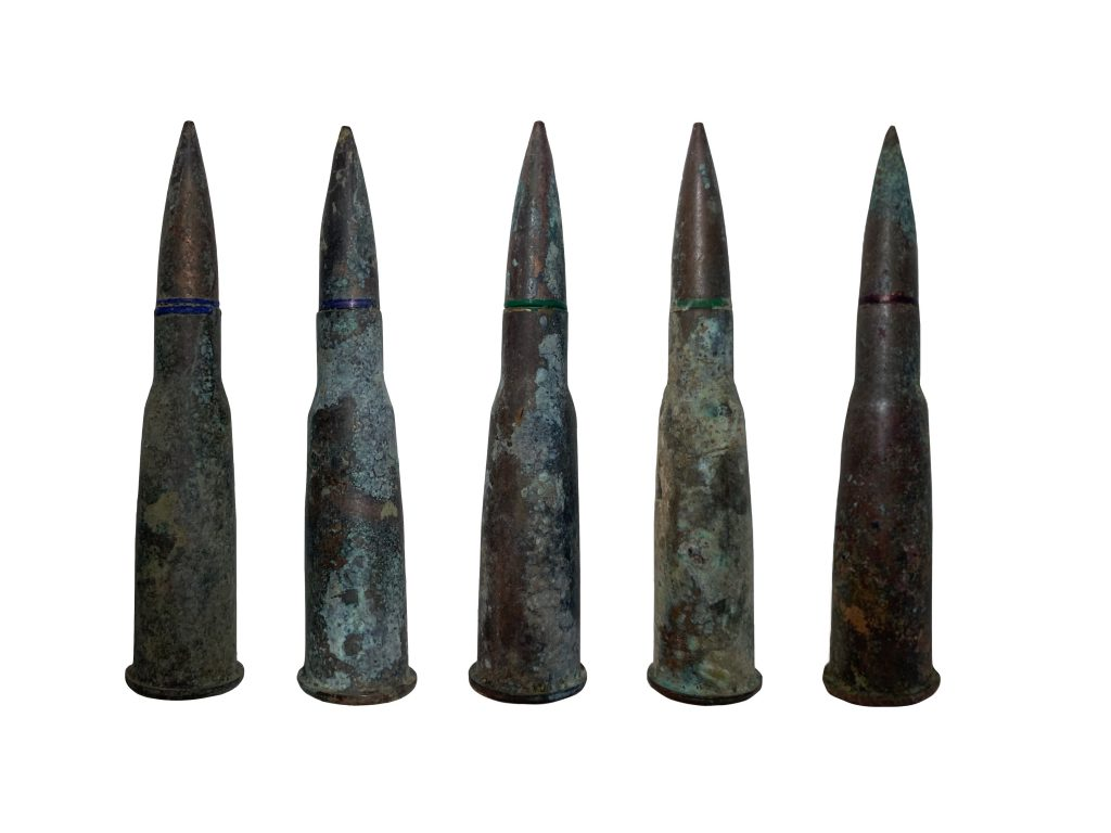 Balles de 8 mm pour fusil LEBEL (1886).