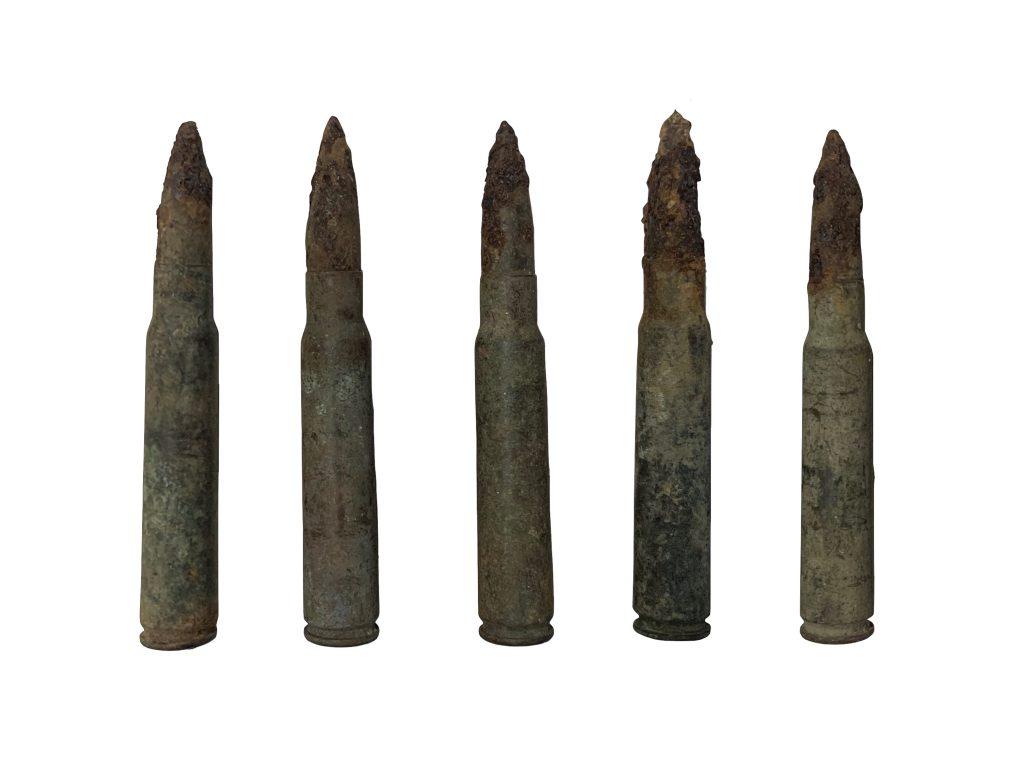 Balles de 8 mm pour fusil MAUSER (1898).