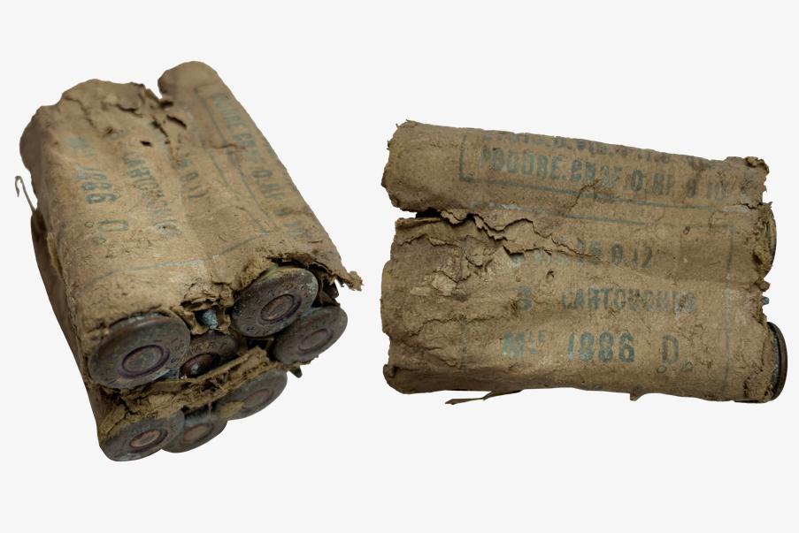 Emballage de cartouche pour fusil LEBEL (1886).