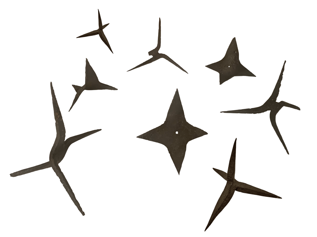 Chausse-trappes de 14-18
