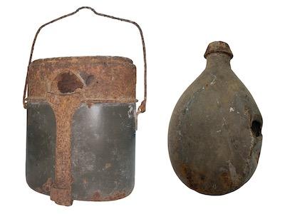 Ces objets témoignent du quotidien des soldats sur le Front des Vosges.